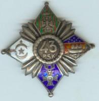 Żołnierze 43 Pułku Strzelców Legionu Bajończyków (43 pp)