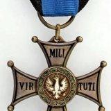Krzyż Srebrny Virtuti Militari z 1920 r.